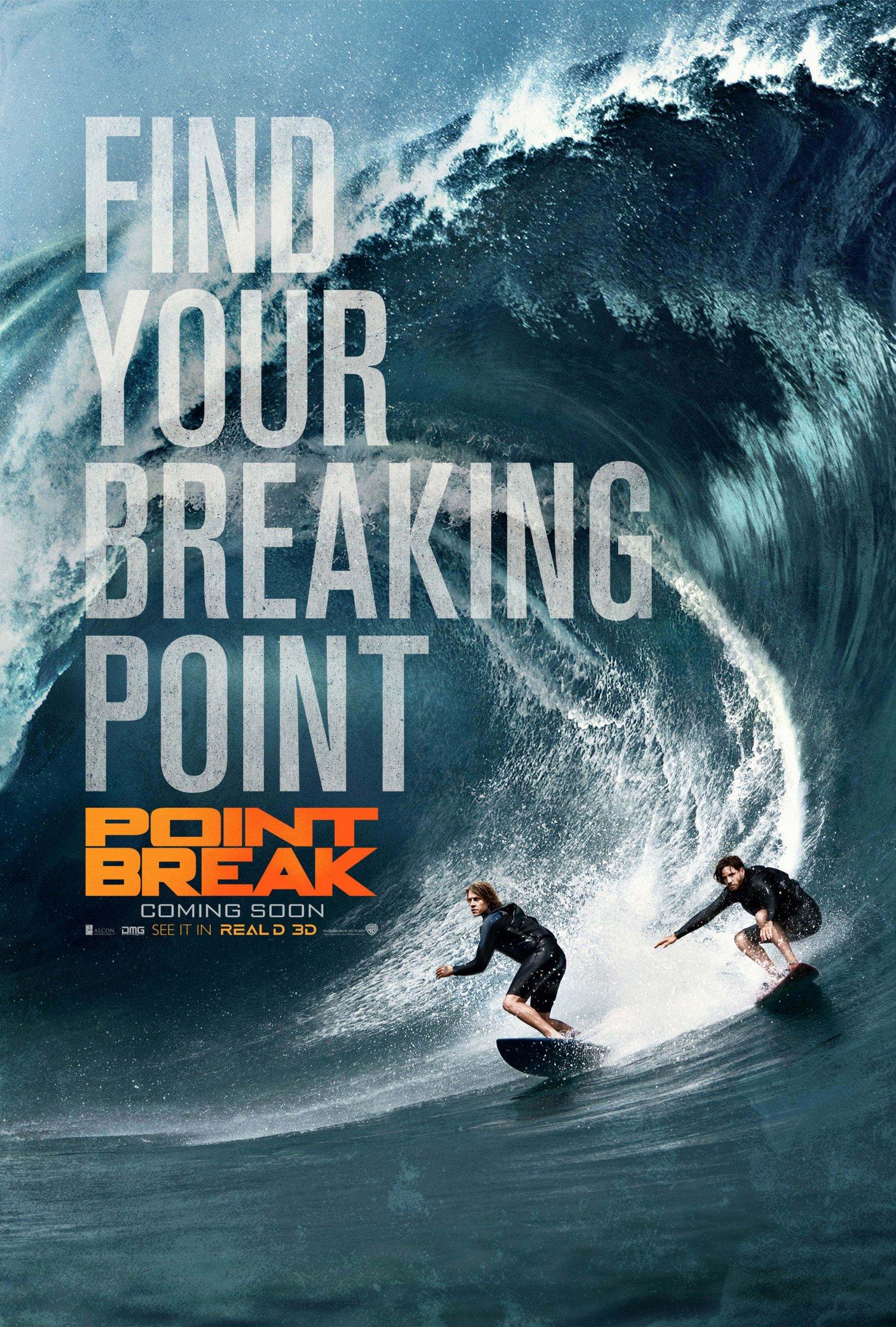 Point Break teaser poster 2