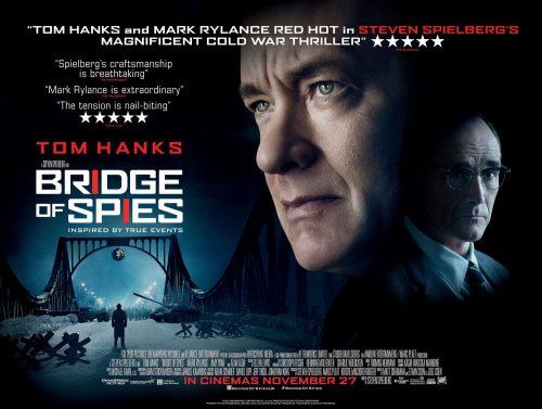 Steven Spielberg's BRIDGE OF SPIES QUAD UK