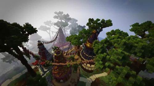 Pan Adventures in Minecraft