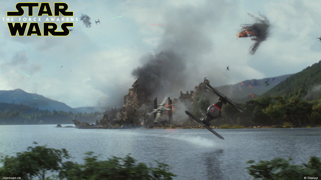 Star WarsThe Force Awakens Wallpaper 01