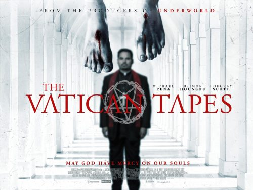 THE VATICAN TAPES - UK POSTER