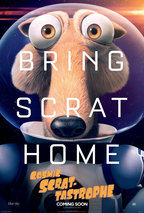Ice Age Collision Course Teaser One Sheet