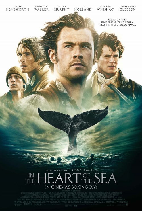 In the Heart of the Sea One Sheet