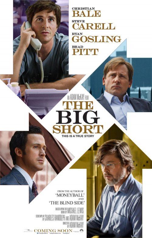 The Big Short teaser poster