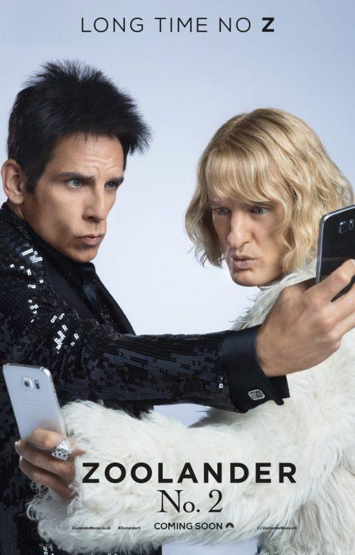 Zoolander 2 selfie poster