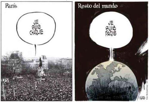 from JeSuisCharlie to JeSuisParis