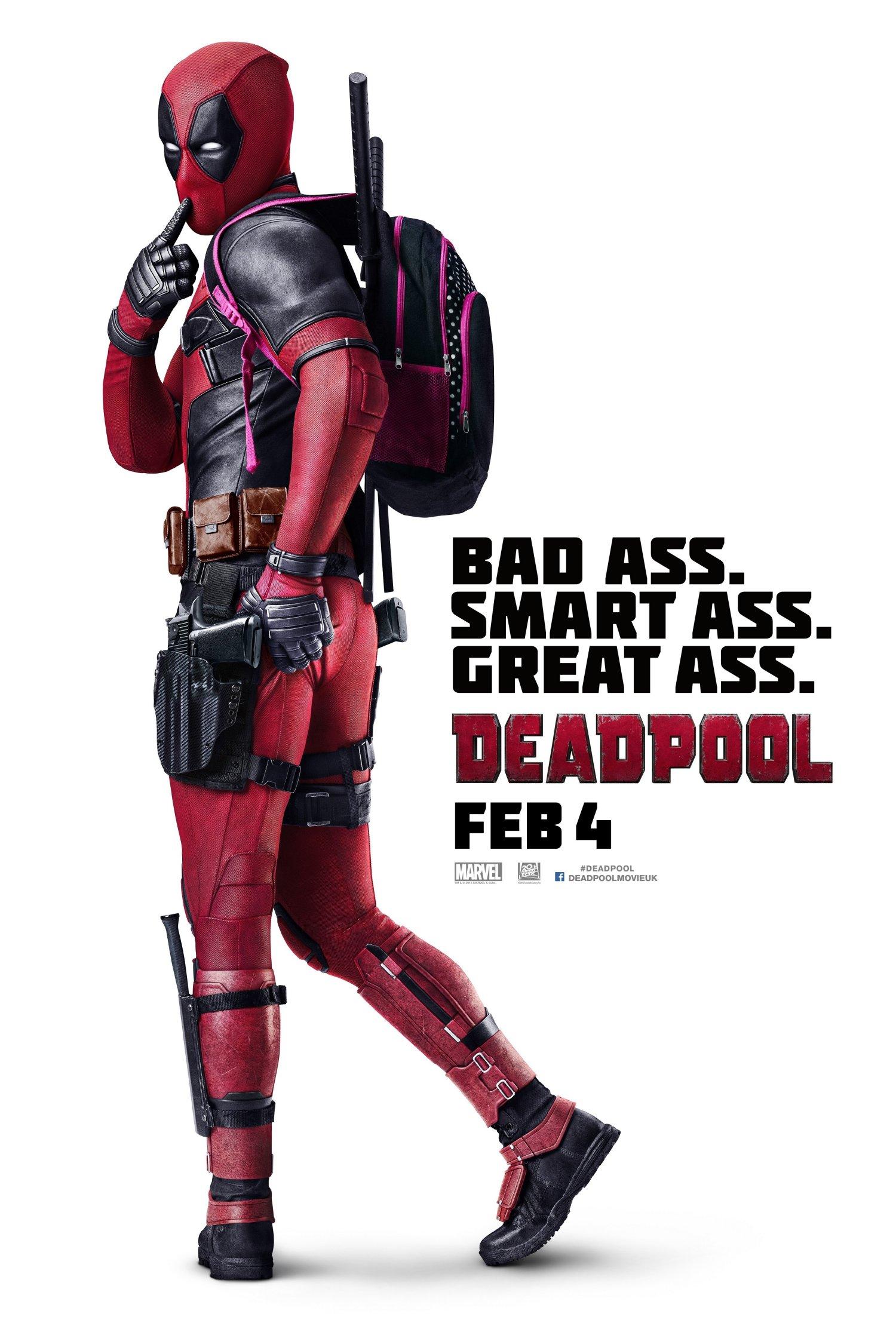 Deadpool International One Sheet poster