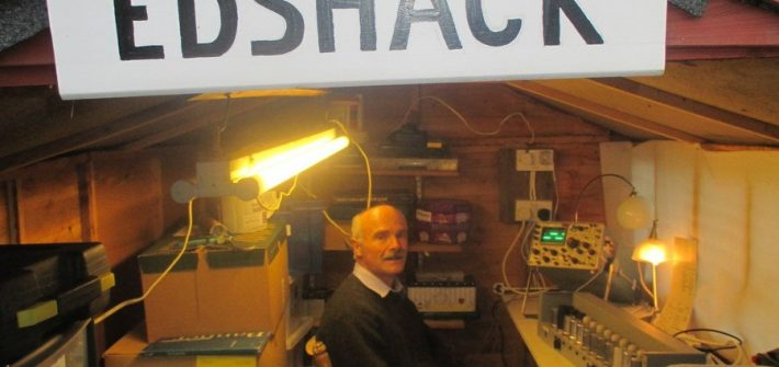 EDSAC and men in sheds