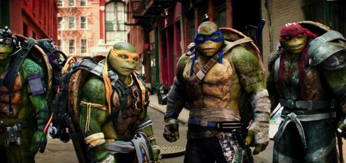 Teenage Mutant Ninja Turtles Out of the Shadows' trailer
