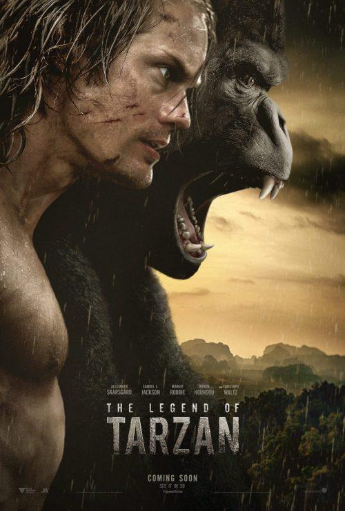 The Legend of Tarzan teaser poster