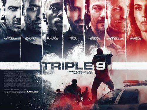 Triple 9 final poster