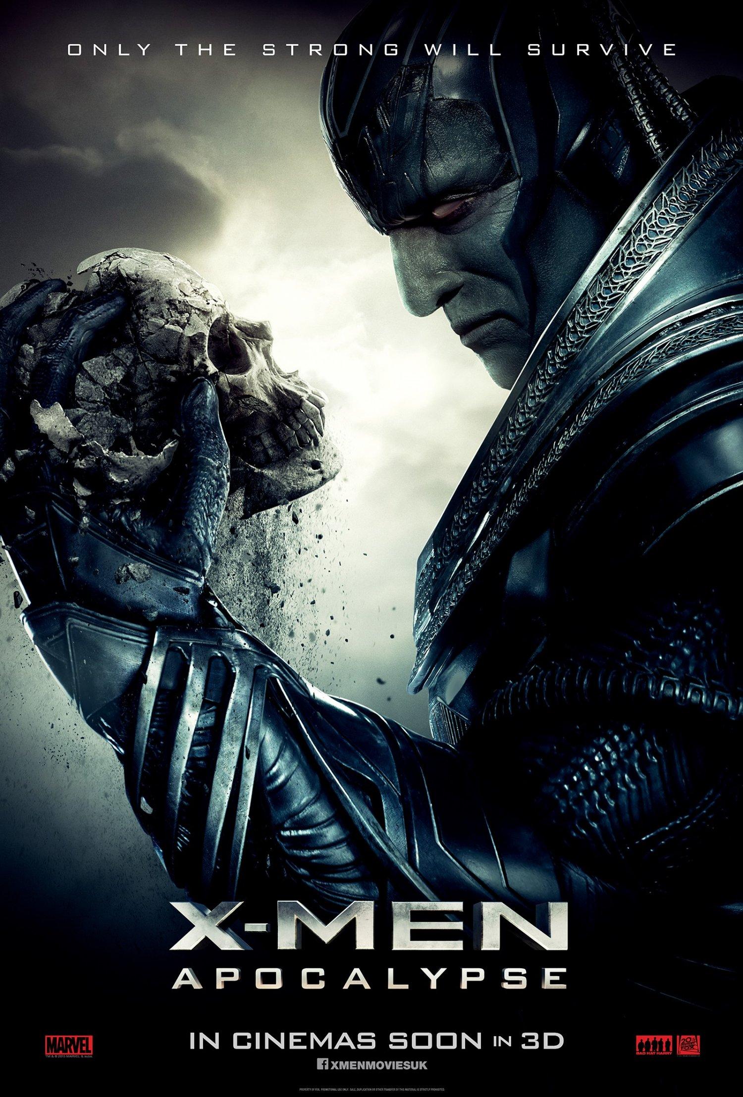 X Men Apocalypse Second Teaser One Sheet