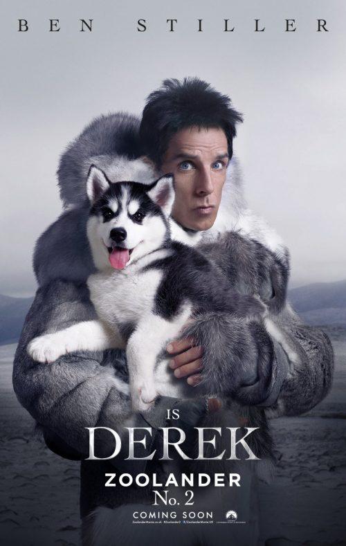 Zoolander 2 - Derek poster