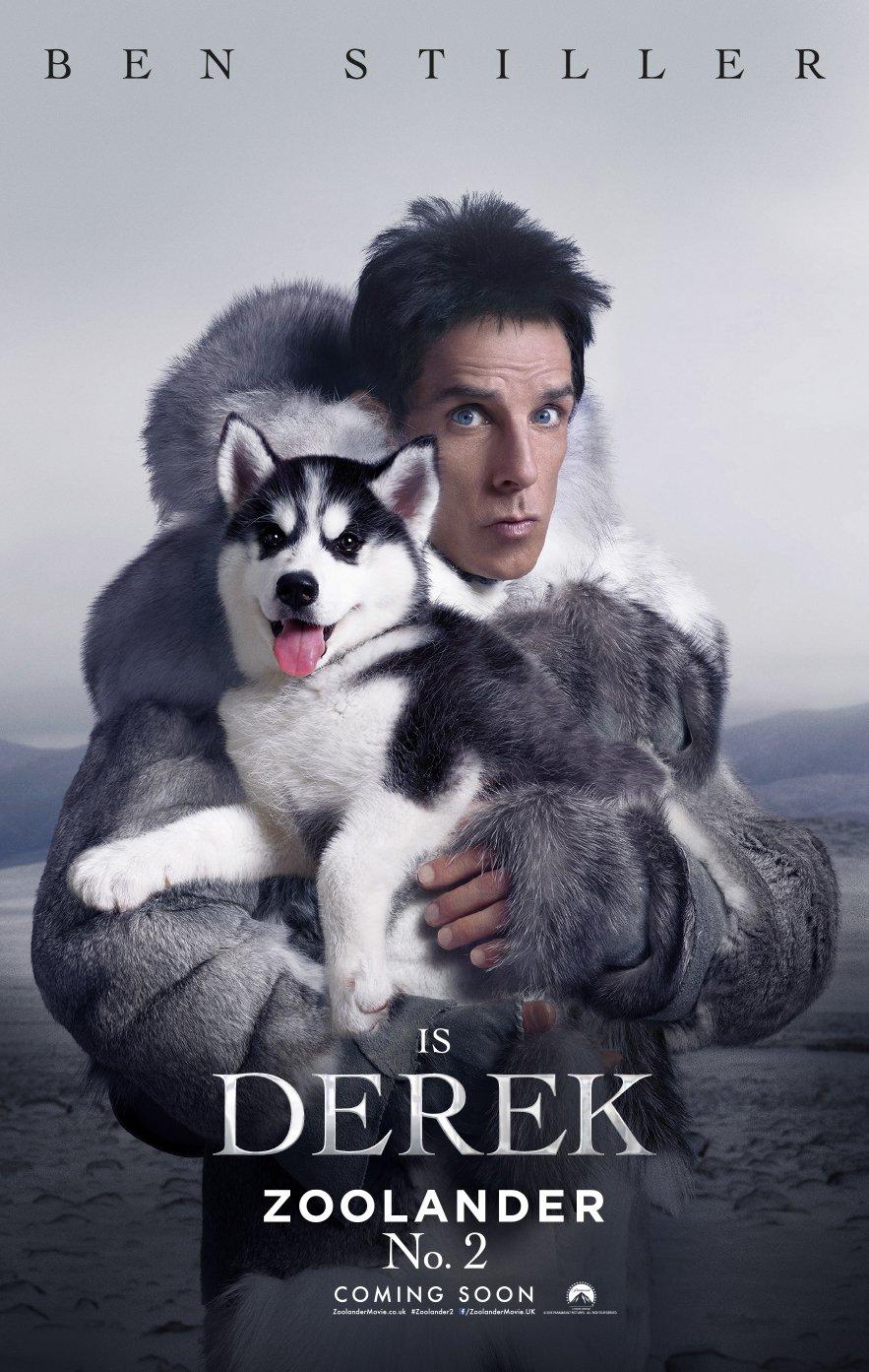 Zoolander 2 – Derek poster