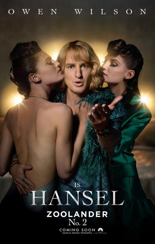 Zoolander 2 Hansel poster