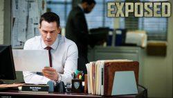 Exposed Keanu Reeves desk