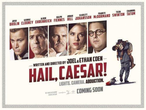Hail, Caesar quad poster