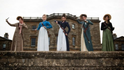 Pride and Prejudice And Zombies - The Bennet sisters