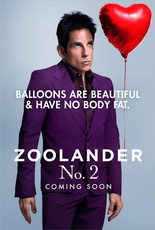 Ben as Zoolander