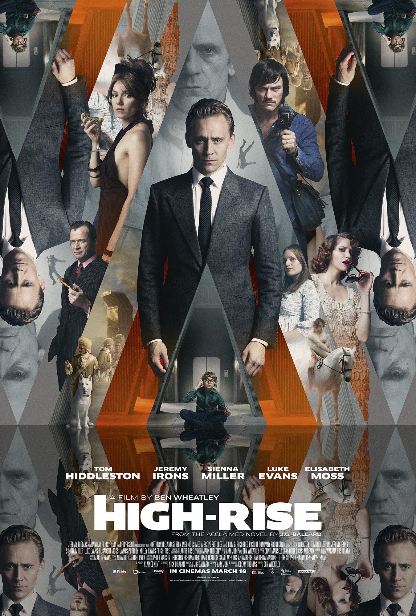 High Rise Kaleidoscope poster
