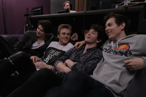 The Vamps - recording