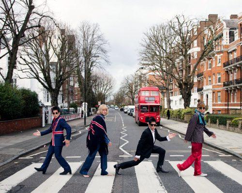 Zoolander on Abbey Road