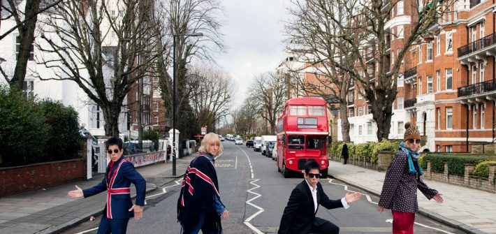 Zoolander on Abbey Road