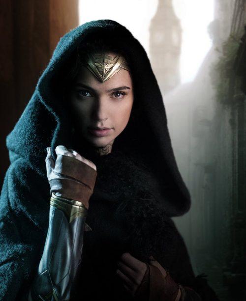 Wonder Woman alone