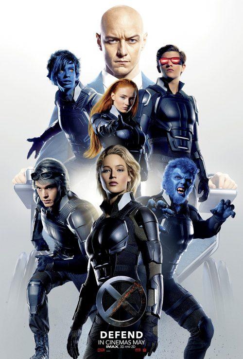 Xmen Apocalypse Defend poster