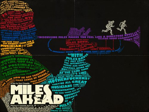 Miles Ahead - Typography Poster