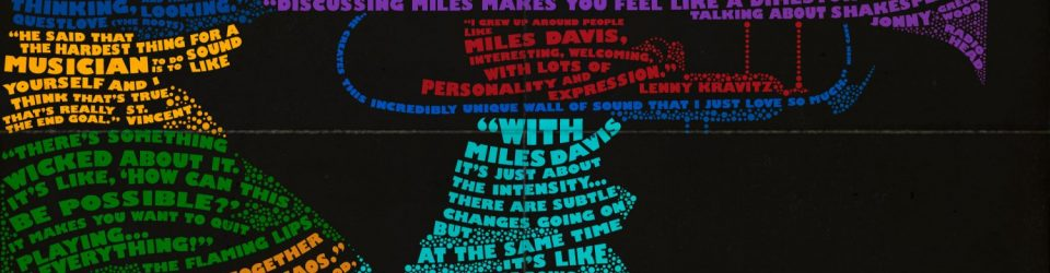 Miles Ahead – Typography Poster