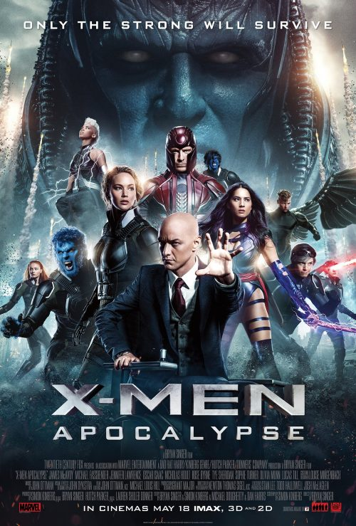 X-Men Apocalypse launch poster