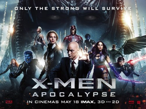 X-Men Apocalypse launch quad poster