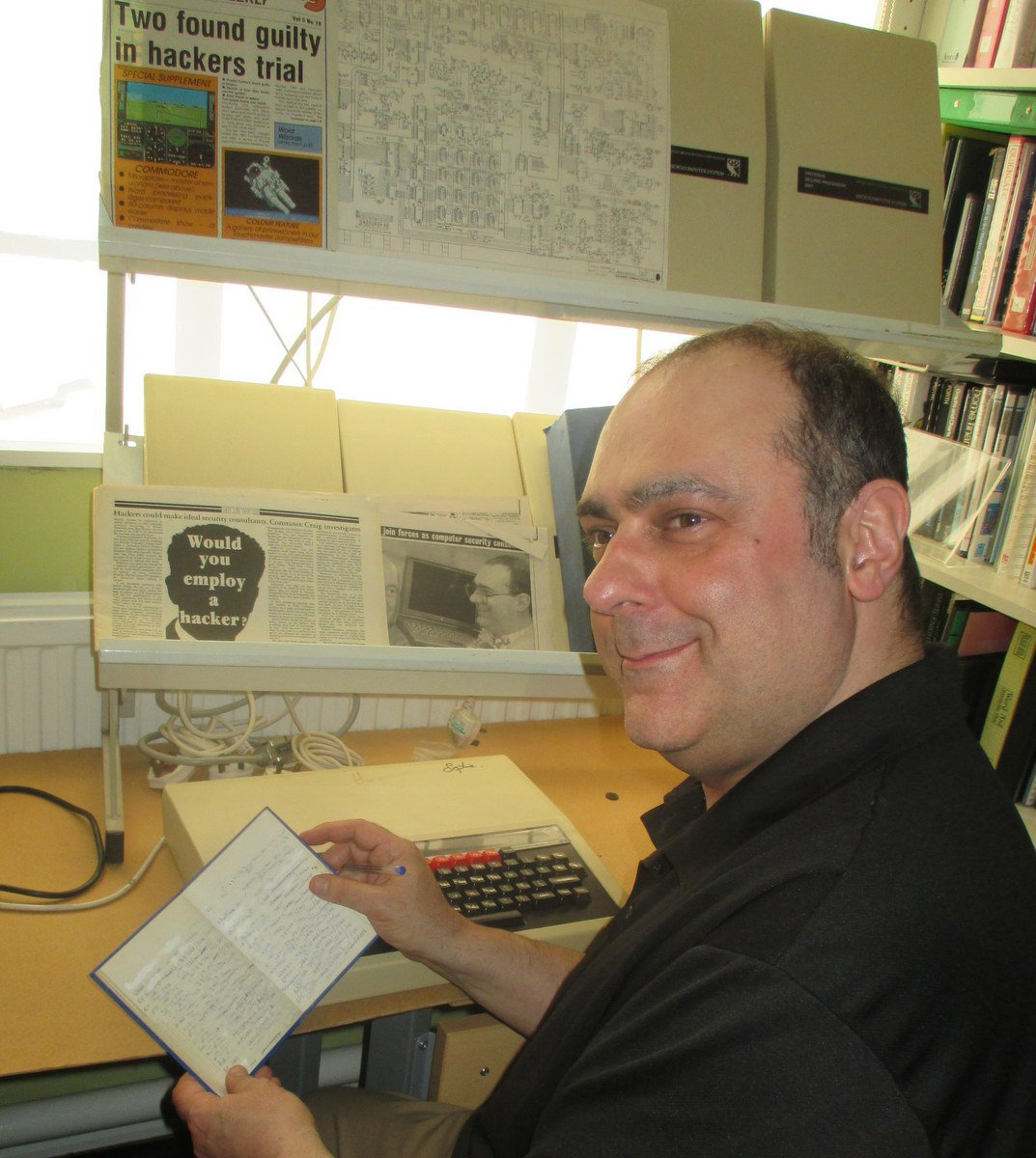 Robert Schifreen relives a 1980's computing experience ion the TNMOC classroom.