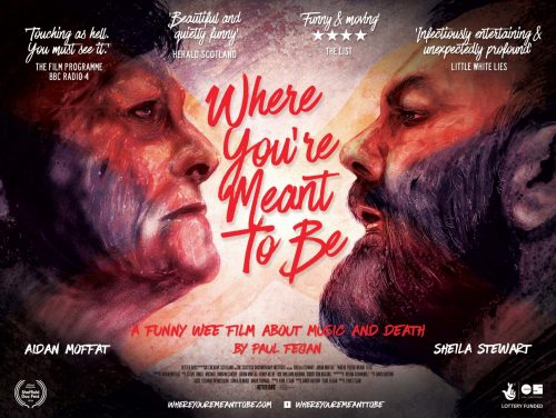 Where you're meant to be poster