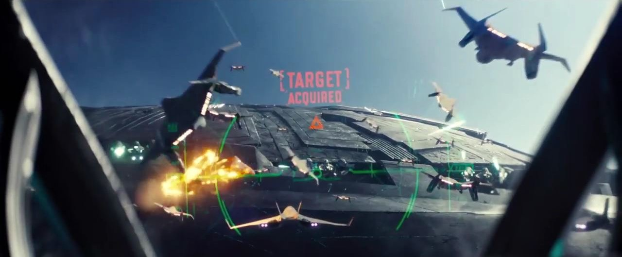 Independence Day Resurgence – Dogfight