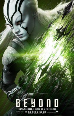 Star Trek Beyond Character poster - Jaylah