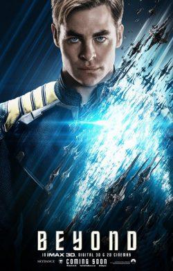 Star Trek Beyond Character poster - Kirk