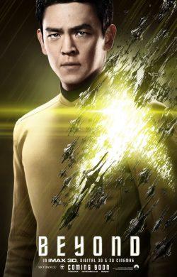 Star Trek Beyond Character poster - Sulu