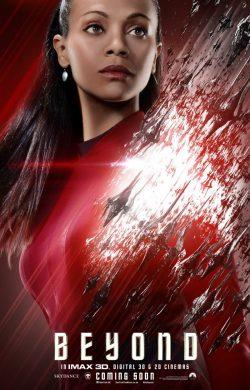 Star Trek Beyond Character poster - Uhura