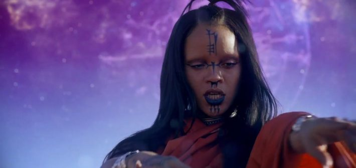 Rihanna does Star Trek
