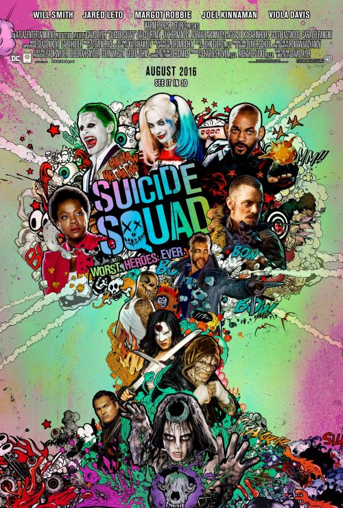 Suicide Squad main poster