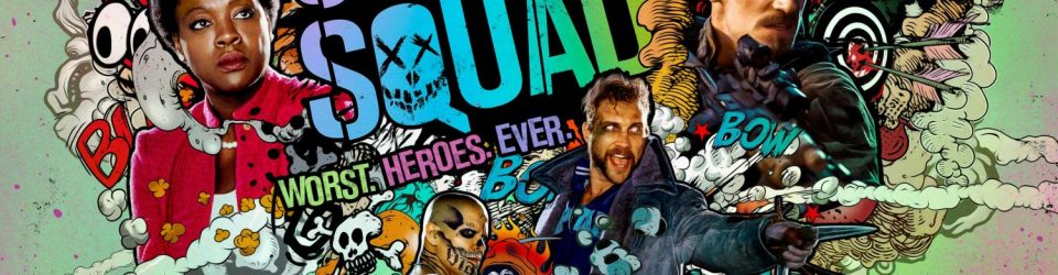 Suicide Squad has a nuclear poster