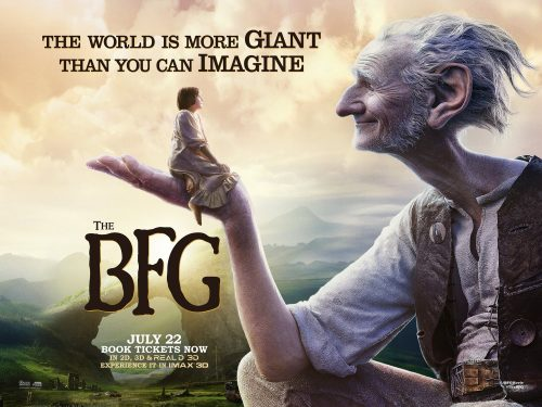 The BFG - Giant Country Poster