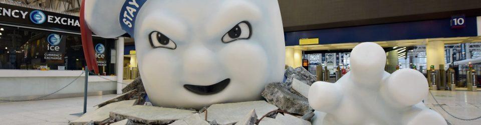 Ghostbusters save Waterloo