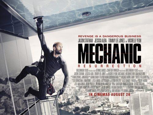 Jason Statham is The Mechanic