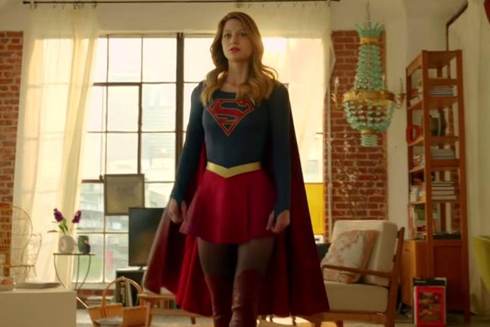 Supergirl tv costumer