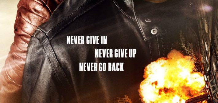 Jack Reacher Never Go Back has a poster