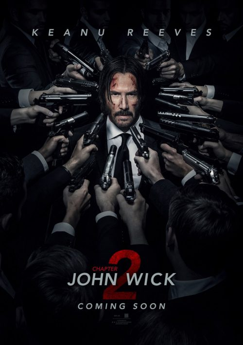 John Wick Chapter Two NY ComicCon poster