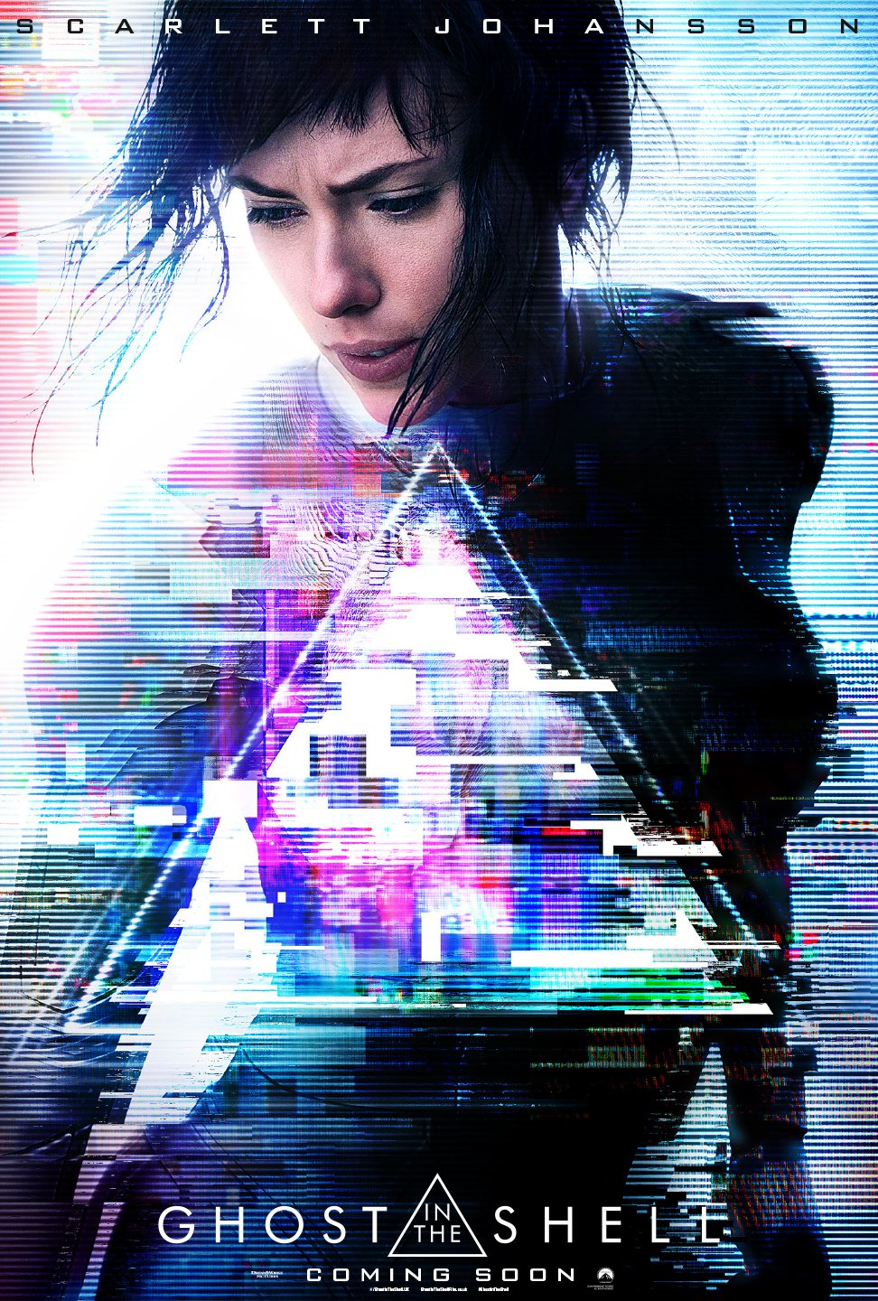 Ghost in the Shell UK poster